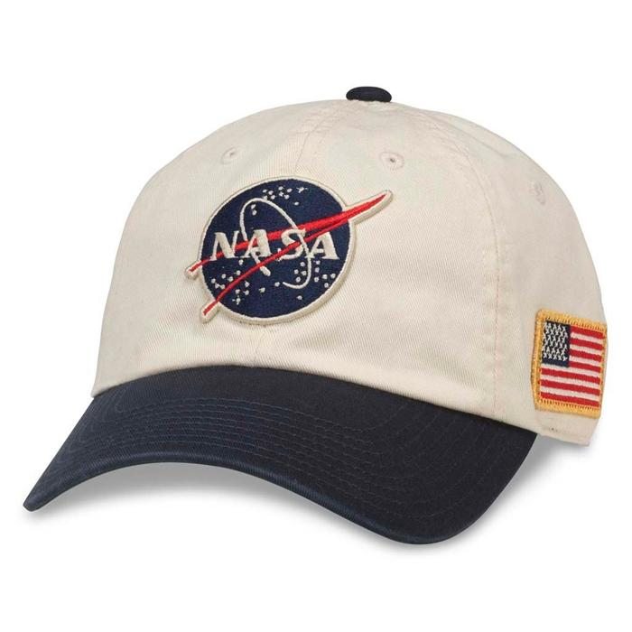Iconic Embroidered Patch Distressed Dad Hat NASA Vintage Washed Cotton Cap 4