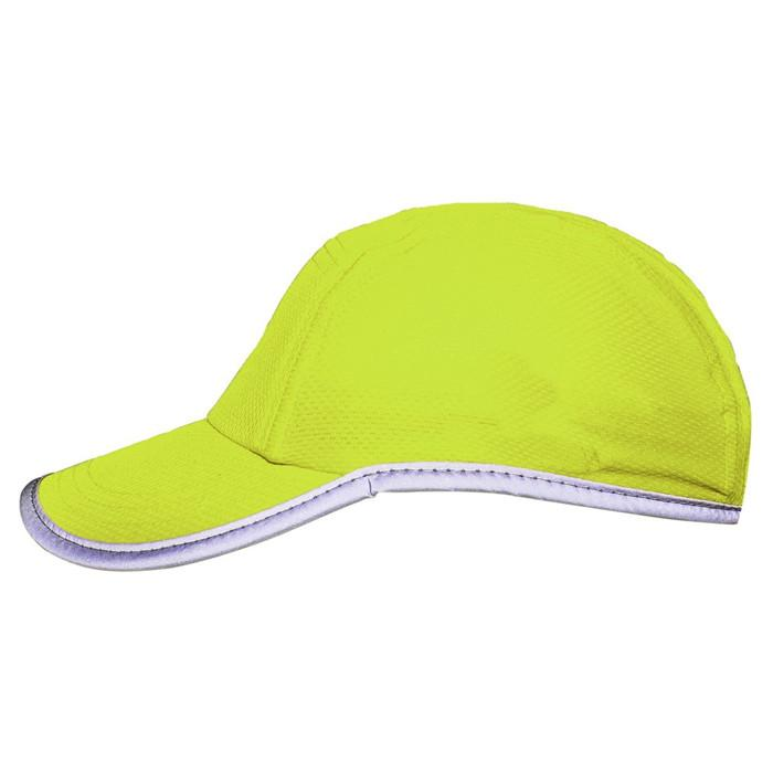 Race running hat Reflective outdoor sports cap polyester hats wholesale 2