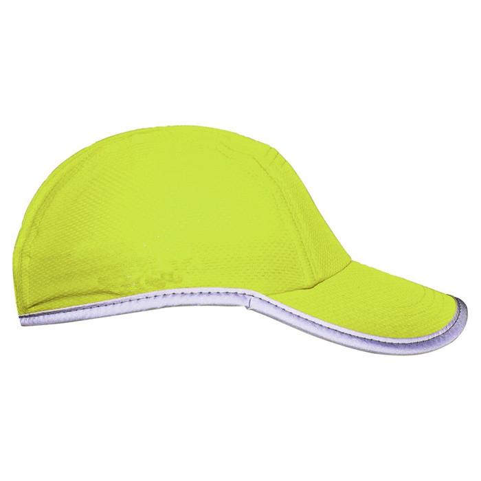 Race running hat Reflective outdoor sports cap polyester hats wholesale 3