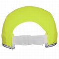 Race running hat Reflective outdoor sports cap polyester hats wholesale 4