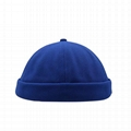 Wholesale Brimless Docker Cap Breathable Full Mesh Design Retro Sailor Cap