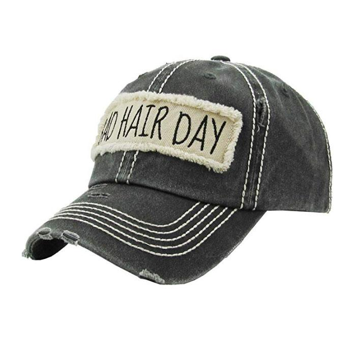 Custom Distressed Baseball Cap Washed Cotton Embroidered Unconstructed Hat