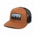 Wholesale Custom Patch Snapback Trucker Hat Mesh 6 Panel Adjustable Baseball Cap