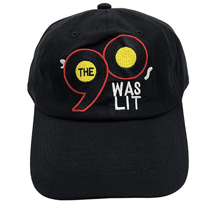 Wholesale Unstructured Dad Hats Baseball Cap Number 90s Lit Embroidered Logo
