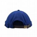 Fashion Brimless Docker Cap Breathable Full Mesh Design Retro Sailor Cap Unisex