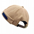 Fashion Brimless Docker Cap Breathable