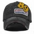 Deep grey Basic Ball Cap Pierced Applique Baseball Hat Trucker Snapback Hats  2