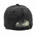 Deep grey Basic Ball Cap Pierced Applique Baseball Hat Trucker Snapback Hats  4