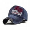 Deep grey Basic Ball Cap Pierced Applique Baseball Hat Trucker Snapback Hats  5