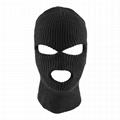 Personalized Ski 3 Hole Knit Acrylic Outdoor Balaclava Face Mask