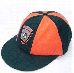 Custom Design Cricket Baggy Green Cap Custom Design Embroidery Cricket Caps Men