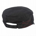 Wholesale Distressed Washed Cotton Cadet Army Baseball Cap Denim Hat