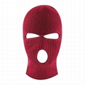 Custom Balaclavas Knit Sew Out Door Face Shield Full Cover Thermal Ski Mask