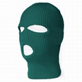 Custom 3 Hole Ski Mask Warmer Full Face Mask Knitted Balaclava Private Label  1