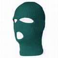 Custom 3 Hole Ski Mask Warmer Full Face Mask Knitted Balaclava Private Label