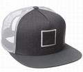 Trucker mesh caps organic snapback hats brim inserts plastic outdoor sport hat