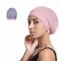 Women Sleep Hat Satin Lined Bonnet Beanie Premium Satin Silk Lined Beanie Hat