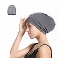 Women Sleep Hat Satin Lined Bonnet