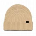 Fisherman Beanie Hat 100% Merino Wool Daily Warm Soft Slouchy Hat