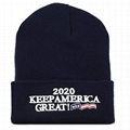 Wholesale Acrylic Beanie With Embroidery Logo Exclusive 3D Trump Skull Knit Bean