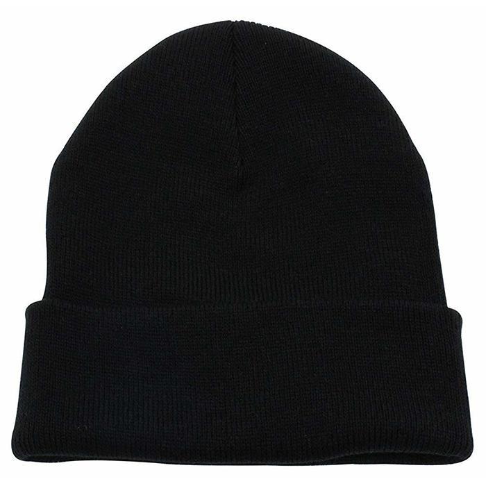 Custom Slouchy Beanie Hat Winter Skullies Beanies Hat Green Fold Beanie Hats  4