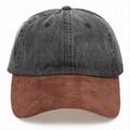 Hot sale 6 panel denim cap baseball hat