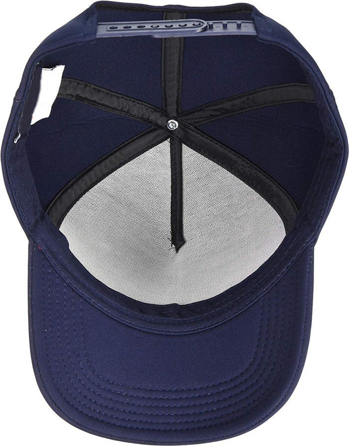 Baseball Cap Foil Print Design Made For Mischief Custom Logo Taping Cotton Hats 3