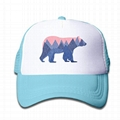 Kids Trucker Hat Boys And Girls 3-13 Year Old Bear Mountain Youth Mesh Hats