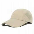 Dry Fit 100% Polyester Golf Hat Folded Cooling Mesh Baseball Hiking Climbing Cap