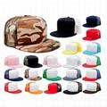 Red Foam Mesh Snapback Cap Flat Brim Trucker Cap Hats Blank Wholesale