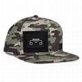 Stylish camo snapback cap custom