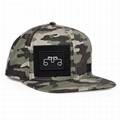 Stylish camo snapback cap custom embroidery snapback hats old school sports hats