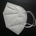 Anti Dust Flu Face KN95 Mask Filter Non Woven Facial Respirator Disposable 3ply