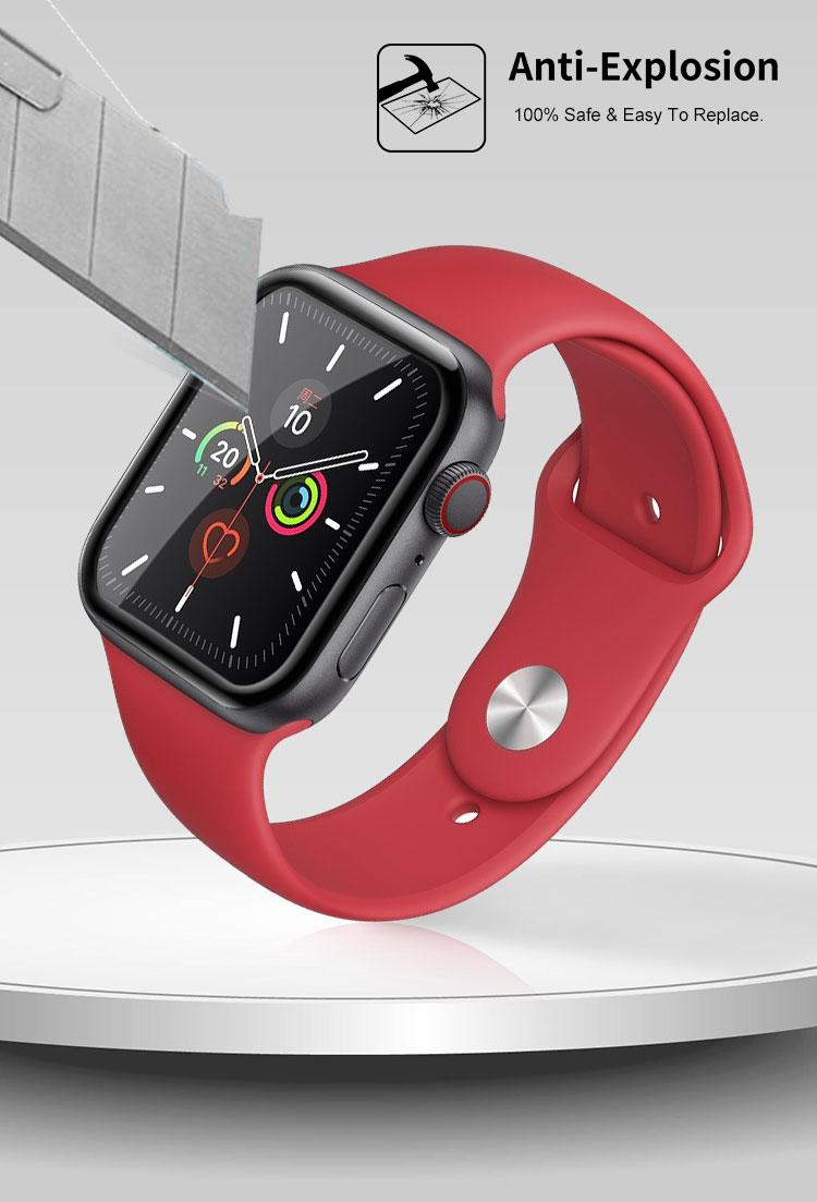 apple watch 3D tempered glass screen protector 3
