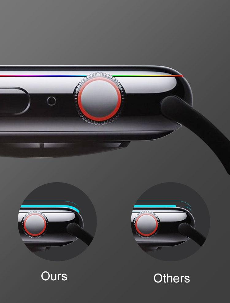 apple watch 3D tempered glass screen protector 4