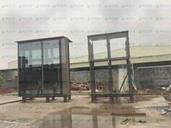 弧形玻璃幕牆
