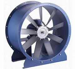 九洲風機POG噴漆房 烘乾 除塵專用風機 大風量軸流通風管道風機
