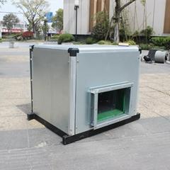 九洲普惠BF低噪声空调风机箱 柜式离心风机箱式排风机静音新风机