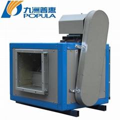 九洲普惠DT柜式离心风机箱式工业管道强力静音厨房排油烟柜式风机