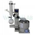 2L Vertical Condenser Auto Lift Vacuum Distillation Equipment Roto Vape Rotovap