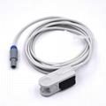 Choice Nellcor oximax  Adult finger clip spo2 sensor,9pin 1