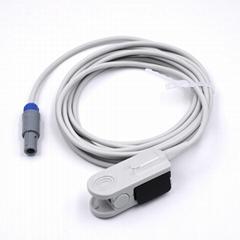 Choice Nellcor oximax  Adult finger clip spo2 sensor,9pin
