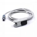 Choice Nellcor oximax  Adult finger clip spo2 sensor,9pin 2