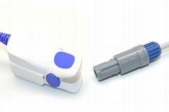 Contec Adult finger clip spo2 sensor,6pin 40 degree