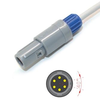 General G3A/G3L/G2A spo2 sensor,6pin Digital 7