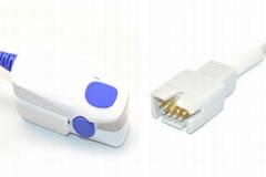 Meditronic-Physio Control lifepack12 reusable spo2 sensor,DB9pin