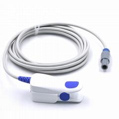 Mindray PM-6000/8000 VS800 adult finger clip spo2 sensor,6pin 40 degree