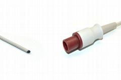 Compatible Philips Pediatric Rectal  Reusable Temperature Probe - 21076A