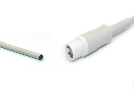 Compatible Draeger  Skin Rectal Reusable Temperature Probe - 4329889 1