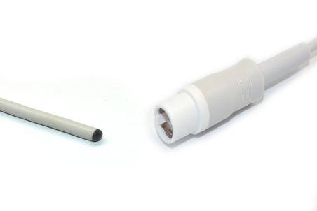 Compatible Draeger  Skin Rectal Reusable Temperature Probe - 4329889
